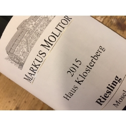 Molitor Haus Klosterberg Riesling 2015