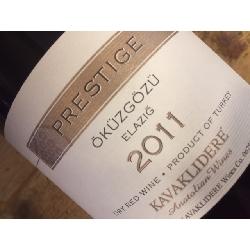 Kavaklidere öküzgözü Prestige 2011