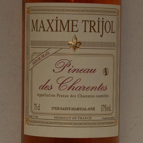 Maxim Trillol Pineau de Charantes Blanc