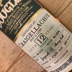 Craigellachie 12 års Douglas 55,9% alc