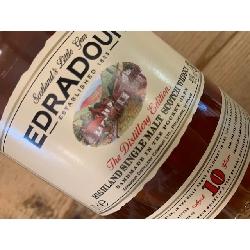 Edradour 10 år single malt whisky