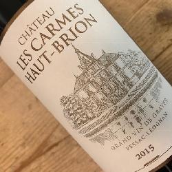 Chateau les Carmes Haut-Brion 2015