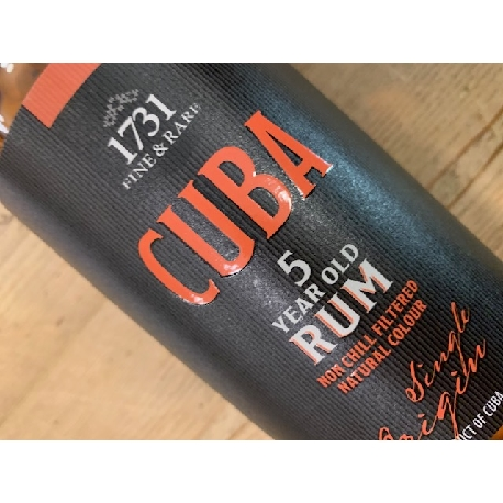 Cuba 5 YO Rum 1731