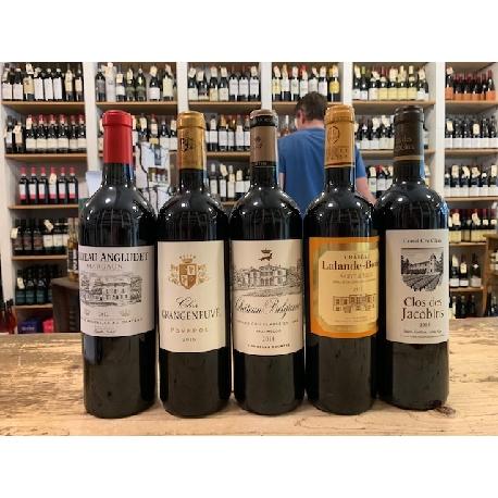 5 store vine fra 5 appellationer i 5 årg