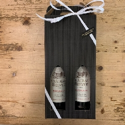 Vingave med 2 dejlige vine fra Bordeaux