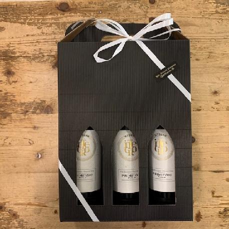 Vingave med 3 fl. Italienske vine