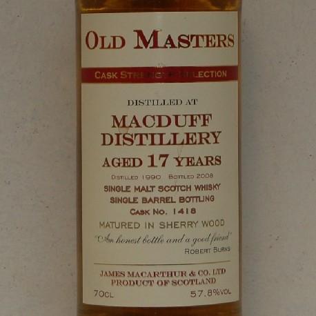 Macduff 17 år JMA 1990