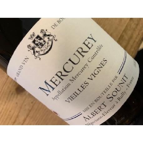 Albert Sounit Mercurey Rouge vv 2018