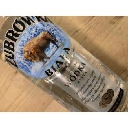 Zubrowka white vodka 1 l