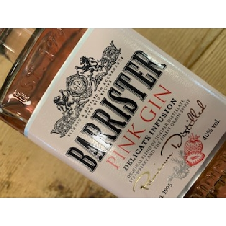 Barrister Pink Gin
