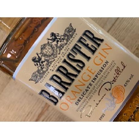 Barrister Orange gin