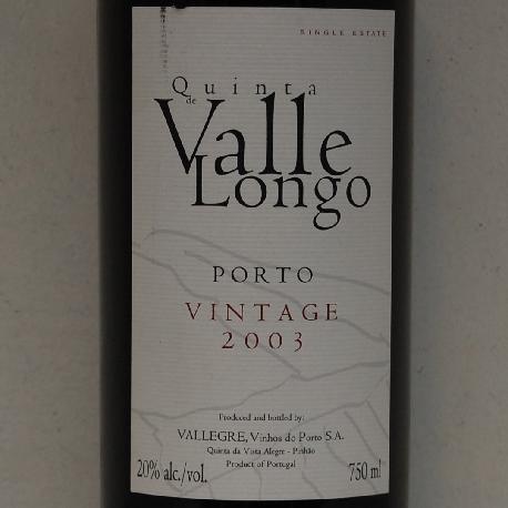 Quinta de Valle Longo Vintage 2011