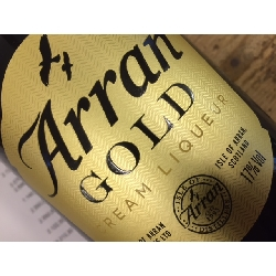 Arran Gold Cream Liqueur 70cl, 17% alc