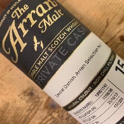 Arran Malt C1142 Bourbon 15 år 55,6% alc