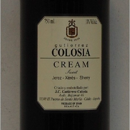 Bodegas Guiterrez Cream 18%