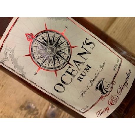Ocean's Rum Tasty 70 cl